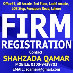 firm registration process in Pakistan