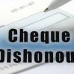 cheque dishonour in Pakistan